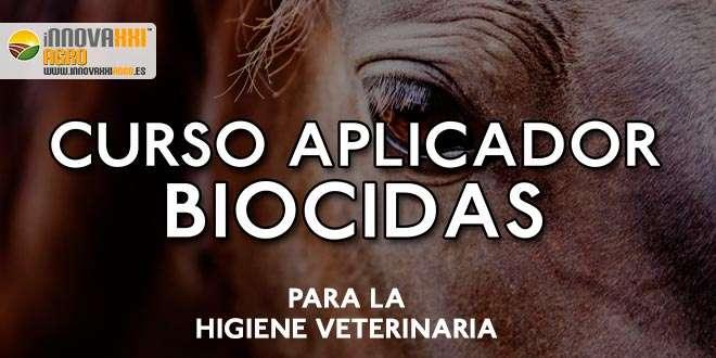 Curso Aplicador de Biocidas para la higiene veterinaria