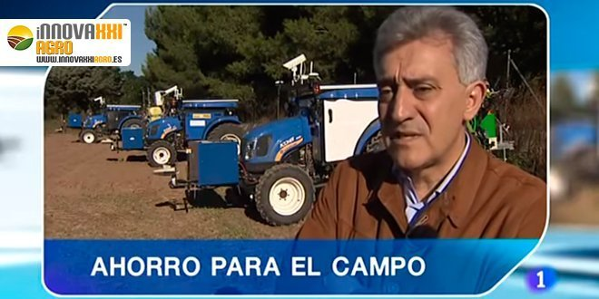 Caballero hablando sobre los drones aplicados a la agricultura