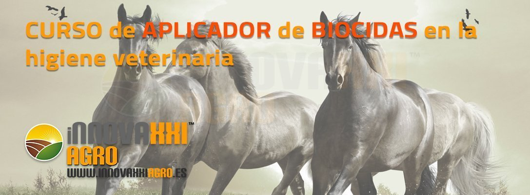 Curso de Aplicador de Biocidas para la Higiene veterinaria