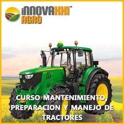 Curso tractores Mantenimiento, preparación y manejo de Tractores