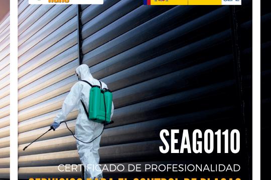 certificado de profesionalidad control de plagas